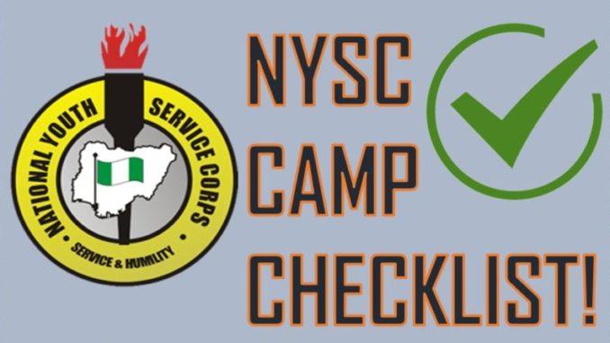 nysc check list